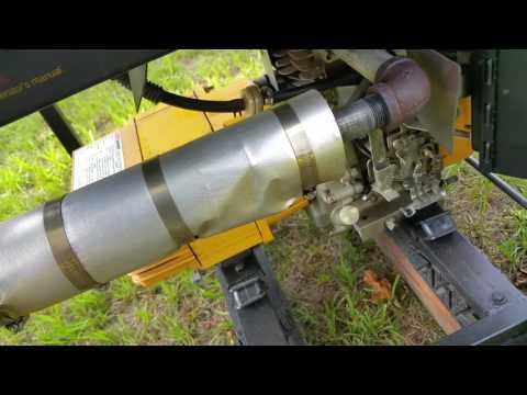 Quiet homemade generator muffler