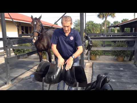 Are you damaging your saddle with the way you clean and store it? by Dressage Connection