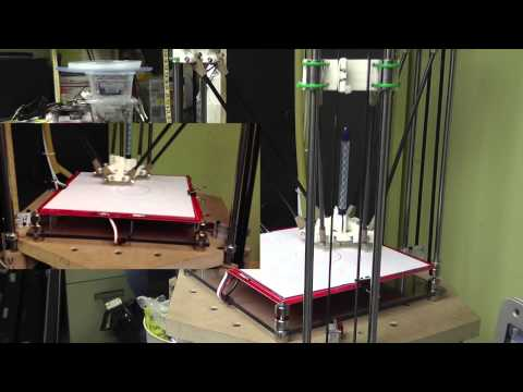 Delta 3D Printer Project. Start To Finish Of Building A rostock delta robot 3D printer prototype.