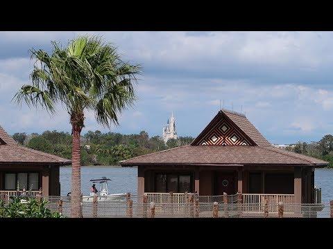 Walt Disney World Polynesian Village Resort Tour   Hotel Grounds, Pools & Food Locations