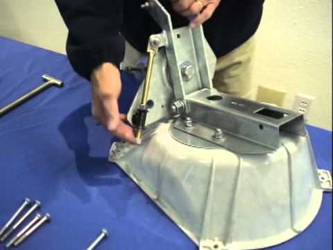 Assembling the DIRECTV satellite dish: Part 1