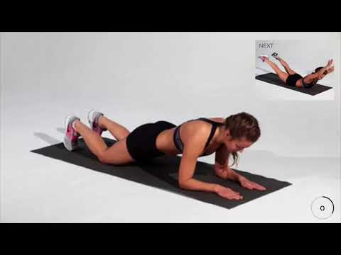How long can you hold plank position 3 min