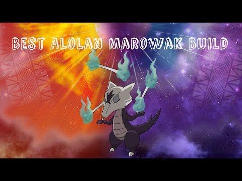 Best Alolan Marowak Build (Pokemon Sun and Moon)