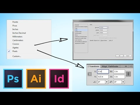 Quickly Swicthing Your Ruler Units, Photoshop/Illustrator/InDesign Tutorial