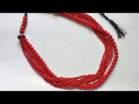 How To Create A Multi Layered Beaded Necklace - DIY Crafts Tutorial - Guidecentral