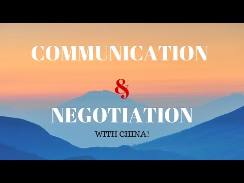 Communicating and Negotiating with Chinese Supplier!
