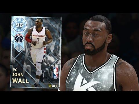 DIAMOND JOHN WALL GAMEPLAY!! CLUTCH PERFORMANCE! (NBA 2K18 MYTEAM)