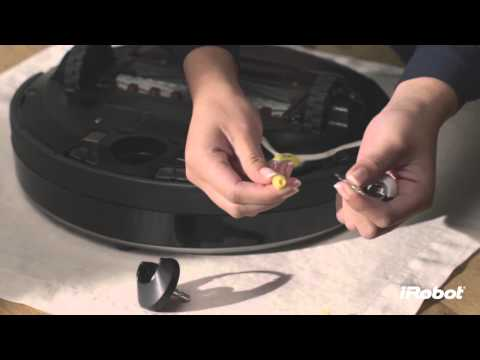 iRobot Roomba 800 Series - How to Clean Front Caster Wheel