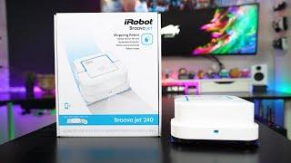 معاينة روبوت BraavaJet 240 من iRobot | ممسحة روبوتية!