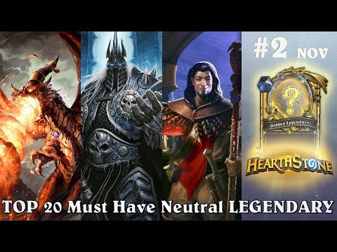 TOP 20 Must Have Neutral LEGENDARY #2 (November - December)