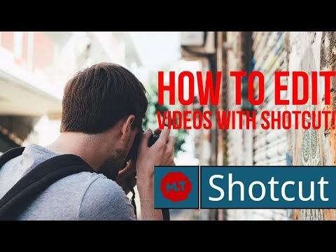 How To Use Shotcut (basic tutorial) - Edit Videos and Upload To YouTube (free software) 2017