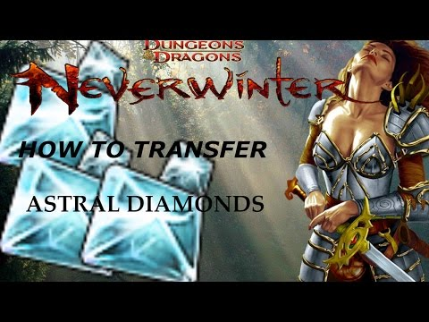 NEVERWINTER PS4:How to Transfer Astral Diamonds(Get Free Tiger)