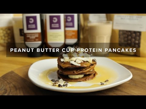 How To Make Protein Pancakes | Chocolate Peanut Butter!