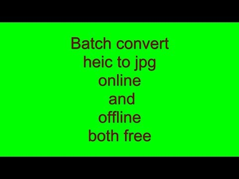 Batch convert heic images to jpg online free