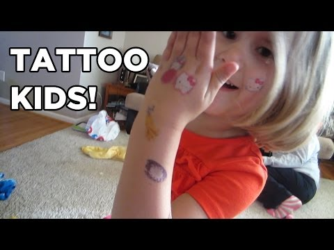 Kids Covered in Tattoos! [VEDA #24]