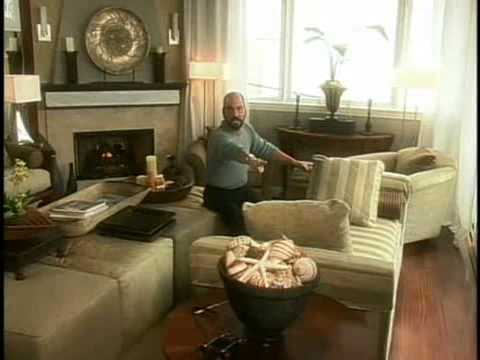 Tiny Living Room Gets Huge Makeover -- Christopher Lowell