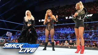 Charlotte Flair, Becky Lynch and Carmella come face to face: SmackDown LIVE, Aug. 14, 2018