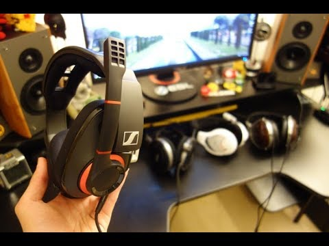 Sennheiser GSP 500 review - Game One vs GSP 500 gaming headset - By TotallydubbedHD