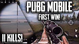My first Win!! | PUBG Mobile DUO | Awm+M416 | Lightspeed/Quantum