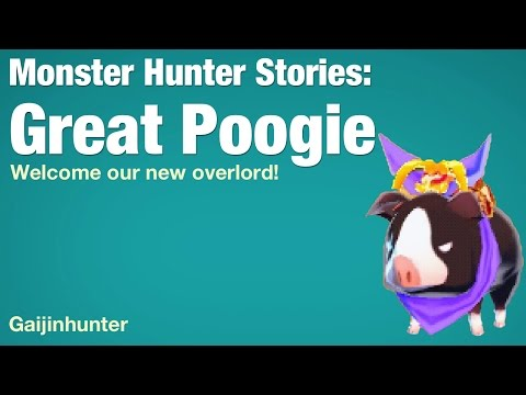 Monster Hunter Stories: Great Poogie