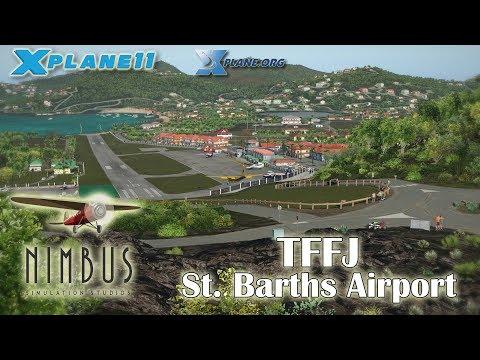 Nimbus St Barths Airport for X-plane 11 & 10