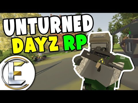 Stole A Helicopter! Unturned DayZ RP - Roleplay (Surviving In Chernarus)