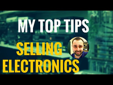 My Top Tips For Selling Electronics On Amazon FBA And Understanding The Risks...