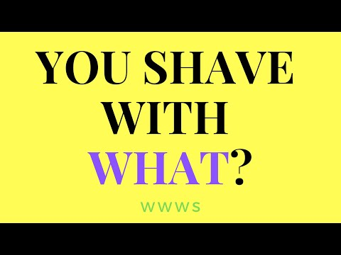Wild Women Wet Shaving // you shave with WHAT?