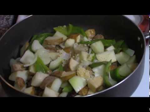 How to Cook Hearty Sweet Italian Sausage Onion Pepper Potato Skillet Recipe