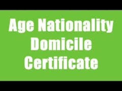 How to apply for  domicile certificate online in maharashtra/Mumbai 2017