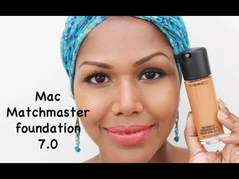 Mac Matchmaster foundation 7.0 Review & Application