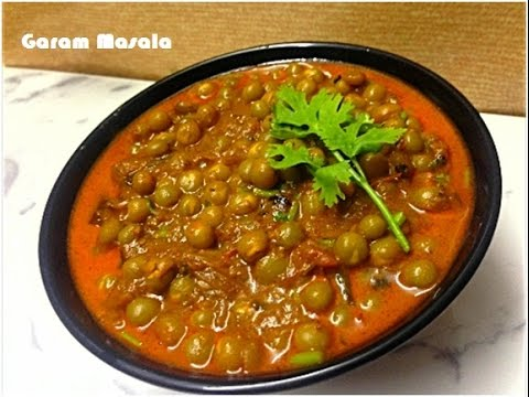 Kerala Style Green Peas Masala Curry