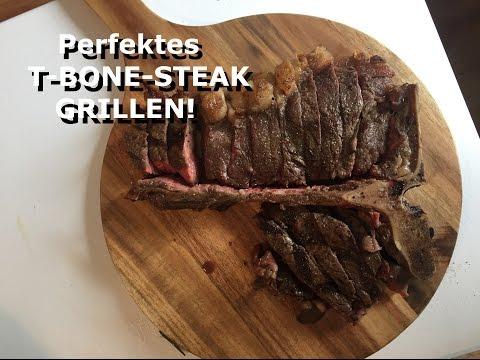 Wie grillt man ein perfektes T-Bone Steak oder Porterhouse Steak?