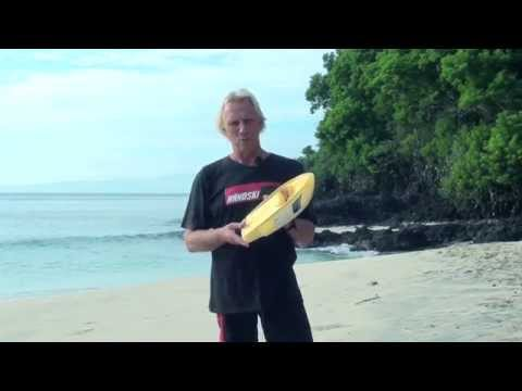 The ultimate bodysurfing hand plane, Taylor's Mistake Handski