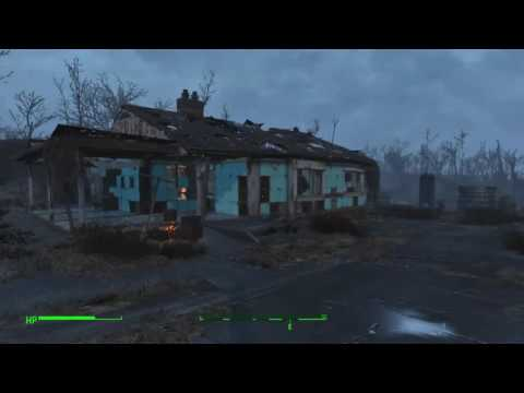 Fallout 4 - Sanctuary Hills - Relocate Chem and Cook Stations