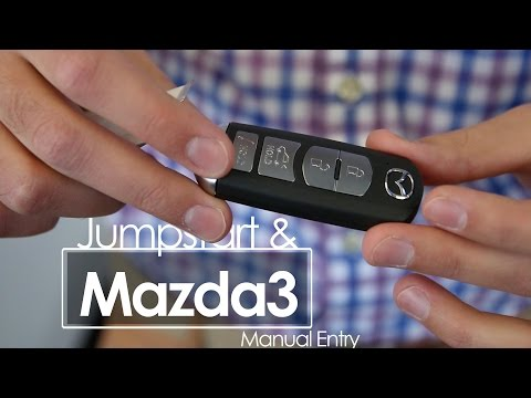 Mazda3 - Jumpstart and Manual Entry | Tutorial | Morrie's Inver Grove Mazda