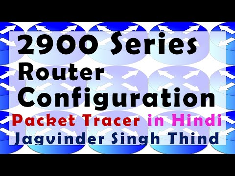 Cisco 2900 Router Installation & Configuration in Packet Tracer - रूटर्स कॉन्फ़िगर