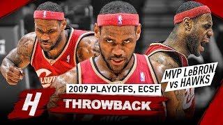 MVP LeBron James UNSTOPPABLE MODE! Full Series Highlights vs Hawks 2009 NBA Playoffs - BEAST!