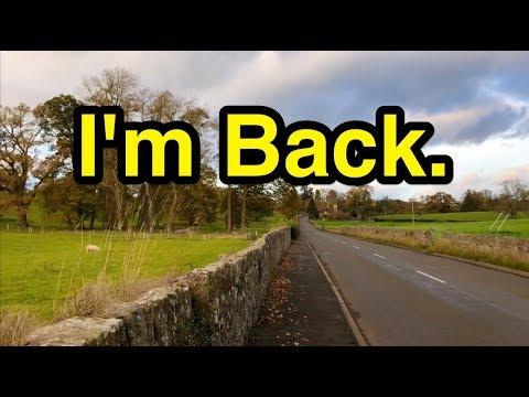 I'm Back. (and ready to cringe!)