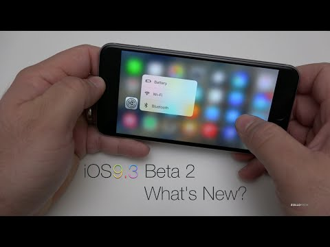iOS 9.3 Beta 2 - What's New?