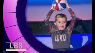 Meet Titus the viral trick shot sensation   Little Big Shots Aus Season 2 Episode 2