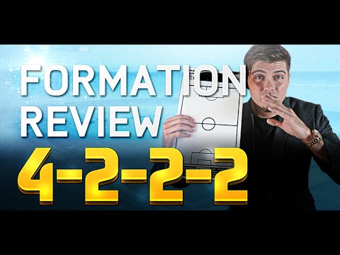 BEST FORMATIONS IN FIFA 16 TUTORIAL! THE 4222 GUIDE! EASY BUILD UP & LONG SHOTS!