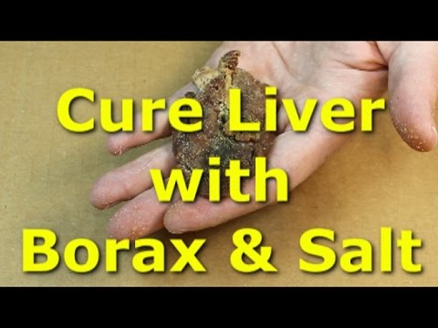 How to cure chicken liver with borax and salt - tough chicken liver