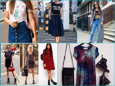 How to Dress Grunge: Spring\Summer Grunge Fashion Trend 2018