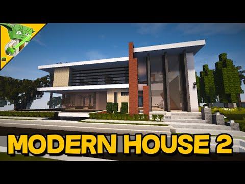 MINECRAFT MODERN BUILDS SHOWCASE– Modern House 2