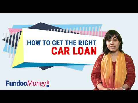 How to Get the Right Car Loan
