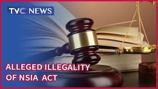 Court Adjourns Suit On Allesged Illegality Of NSIA Act