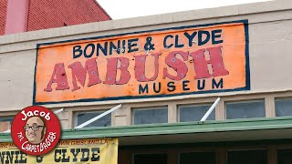 Download Bonnie and Clyde Ambush Museum and Death Site Video