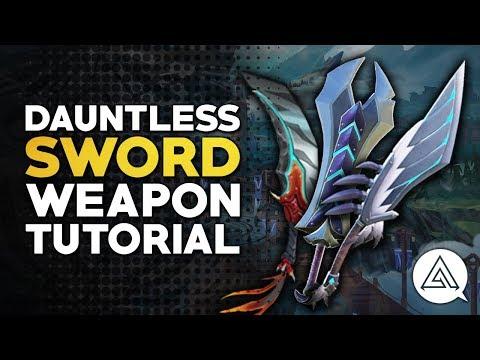 Dauntless | Sword Tutorial