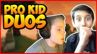 (Wintrrz & Sceptic) 2 of the youngest pros in fortnite duo!